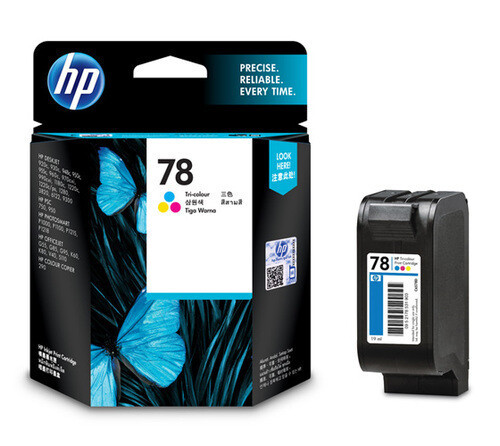 HP 78 Ink Cartridge, Tri Color C6578DA