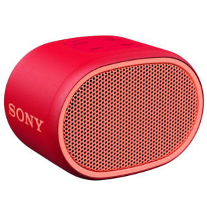 Sony XB01 Portable Bluetooth Speaker, Red