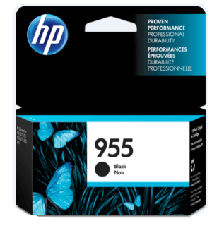 HP 955 Ink Cartridge, Black
