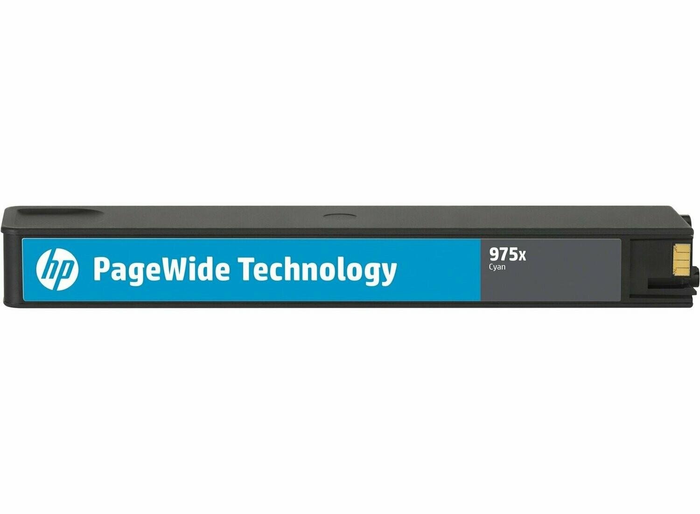 HP 975X Cyan PageWide Cartridge