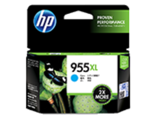 HP 955XL Ink Cartridge, Cyan