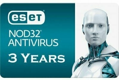 1 User, 3 Year, Eset Antivirus, NOD32