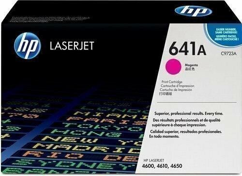 HP C9723A 641A Magenta Toner Cartridge
