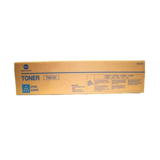 Konica Minolta Toner TN-210 Cyan Toner Cartridge