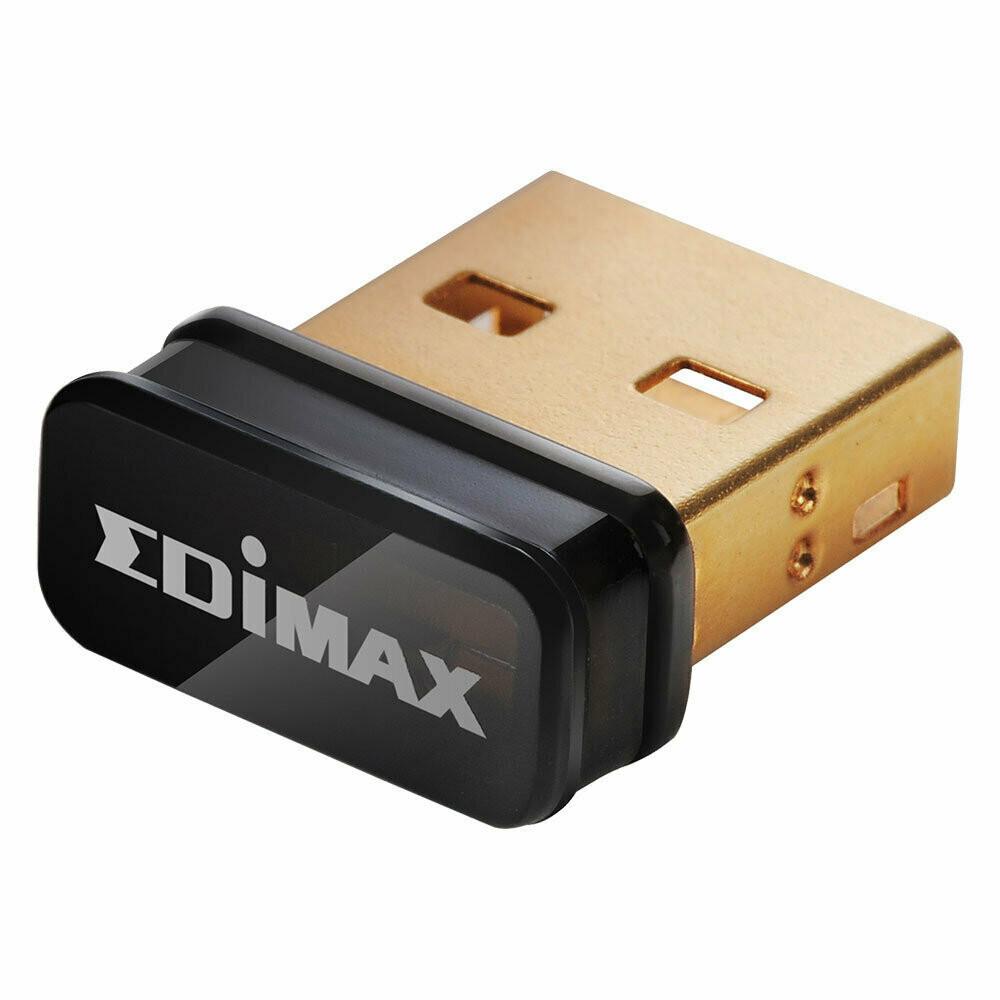 Edimax N150 Mbps Wireless Nano USB Adaptor, EW-7811Un