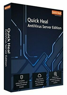 1 Server, 1 Year, Quick Heal Server Edition