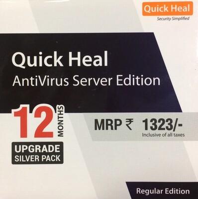Renewal, 1 Server, 1 Year, Quick Heal Server Edition