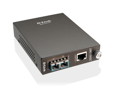 D-Link DMC G1000SC Fiber Media Converter Single Mode SC Type