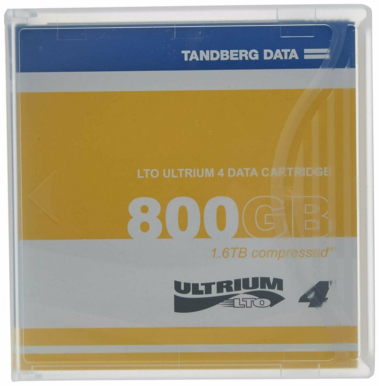 TANDBERG DATA LTO Ultrium 4 Storage Media Tape Cartridge, 433781