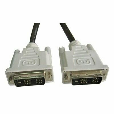 Haze 1.5mtr DVI-D to DVI-D Single Link Cable