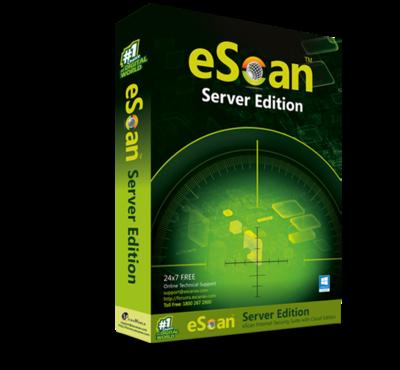 1 Server, 1 Year, eScan Server Edition, V-14.x