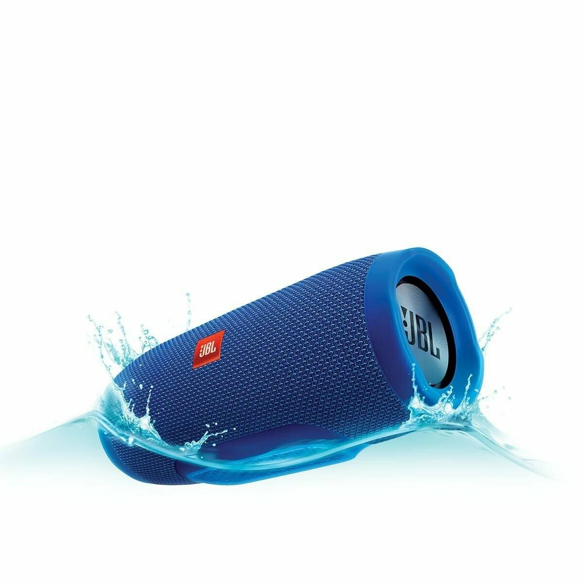 JBL Charge 3 Wireless Portable Speaker, Blue