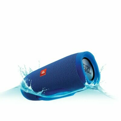 JBL Charge 3 Wireless Portable Speaker, Blue