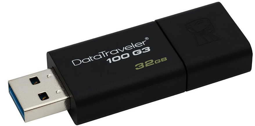 Kingston 32GB Pen Drive, 3.0, DT100