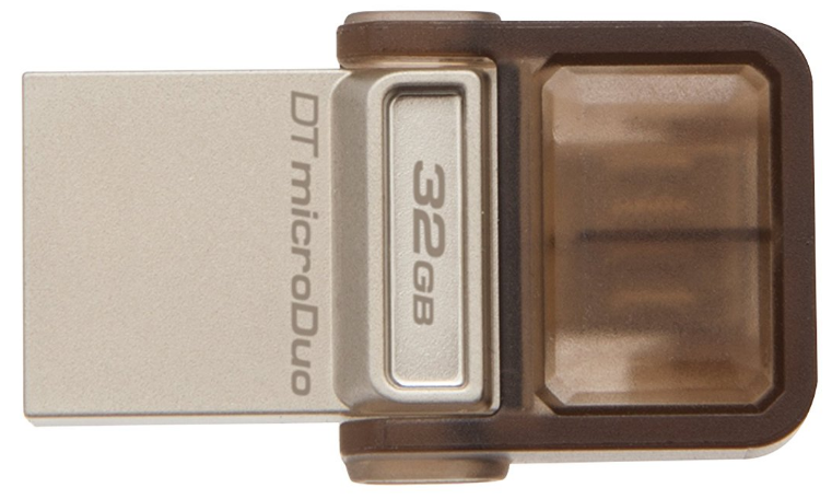 Kingston 32GB OTG Pen Drive, 2.0, Duo