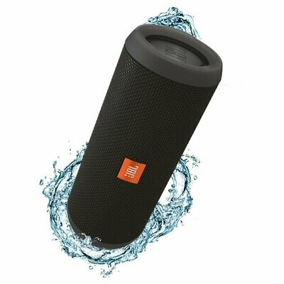 JBL Flip 3 Waterproof Portable Bluetooth Speaker, Black