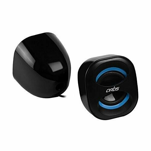 Artis Mini 2.0 USB Multimedia Speakers, Blue