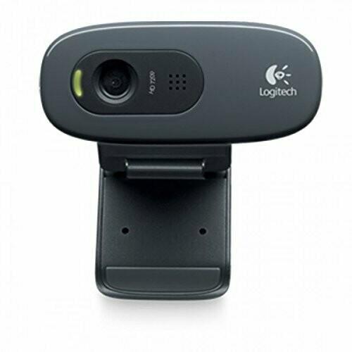 Logitech C270 HD Webcam, 720p/30fps
