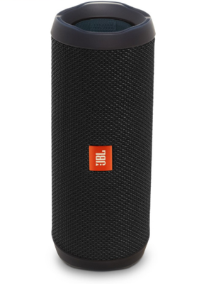 JBL Flip 4 Waterproof Portable Bluetooth Speakers, Black