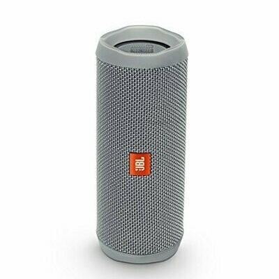 JBL Flip 4 Waterproof Portable Bluetooth Speakers, Gray