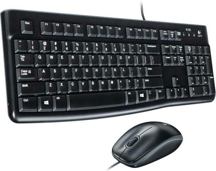 Logitech MK120 Keyboard Mouse