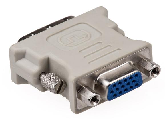 Haze DVI-D Dual link to VGA Coupler Converter, 24+1 Pin
