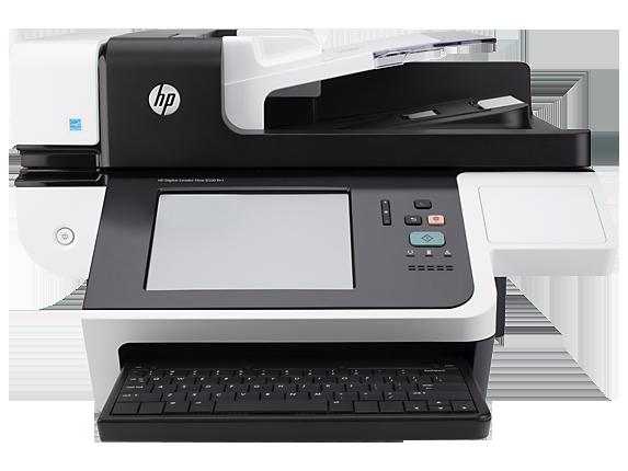 HP 8500fn1 Scanjet Document Capture Workstation Color Scanner