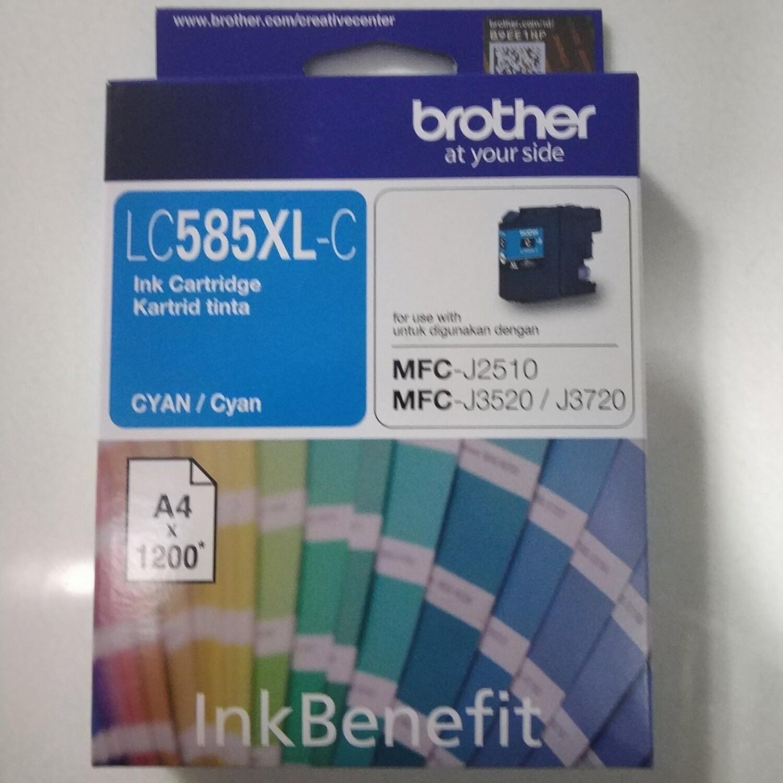 Brother LC585XL Ink Cartridge, Cyan