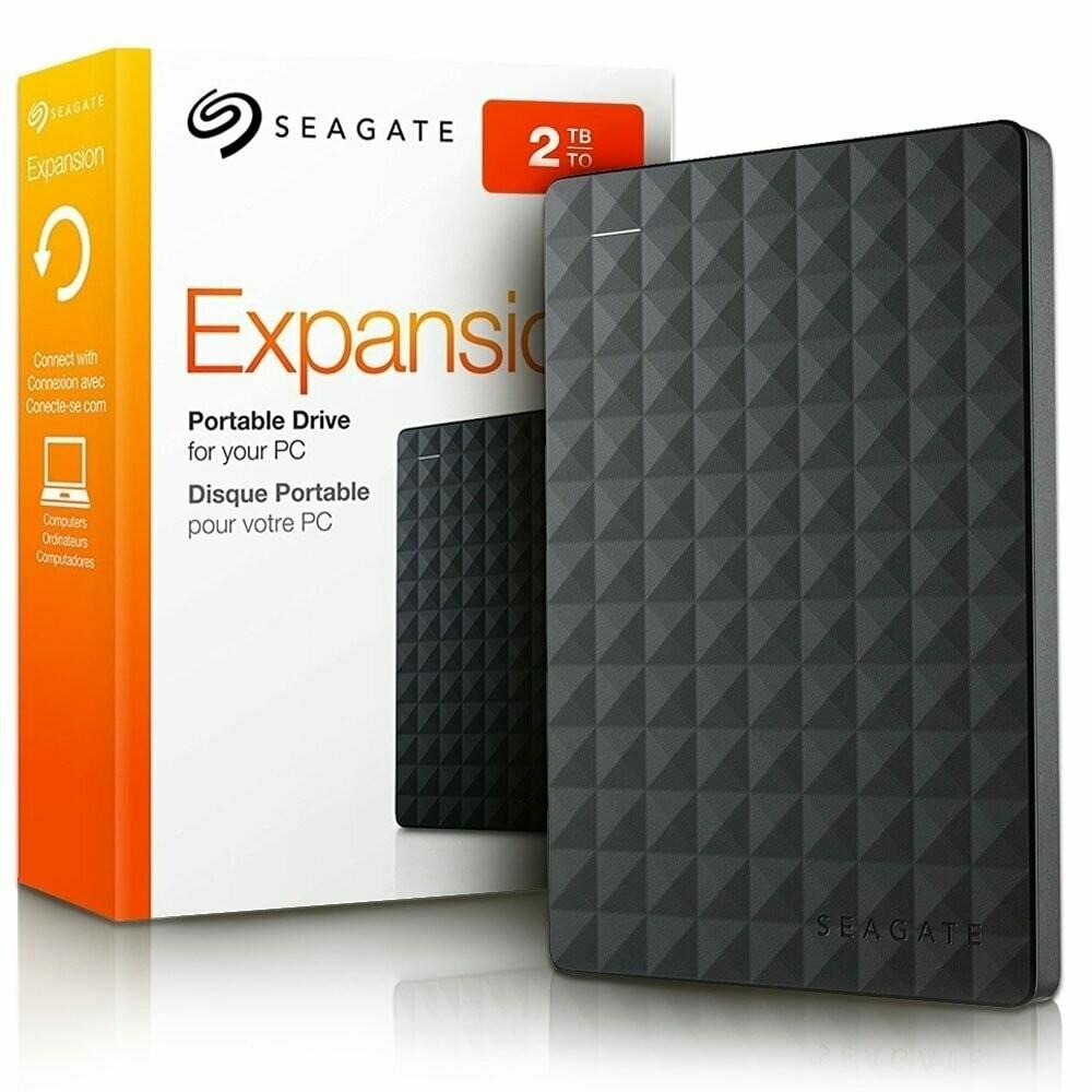 Seagate 2TB Expansion External Hard Drive, STEA2000400