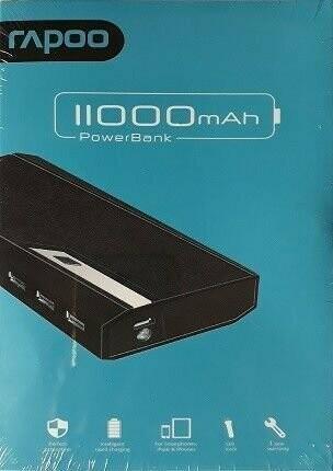 Rapoo 11000mAh Power Bank, P110