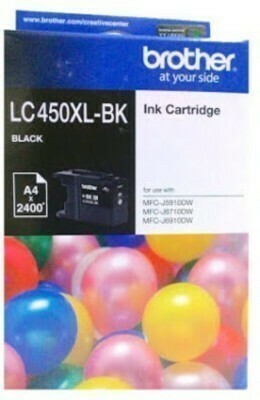 Brother LC450XL Ink Cartridge, Black