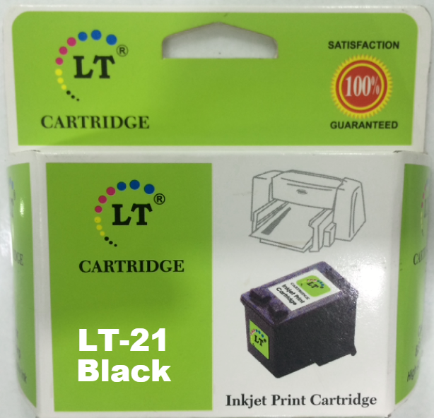 LT 21 Ink Cartridge, Black