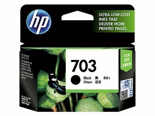 HP 703 Ink Cartridge, Black