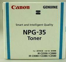 Canon NPG 35 Cyan Toner Cartridge