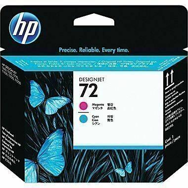 HP 72 Printhead, Magenta and Cyan