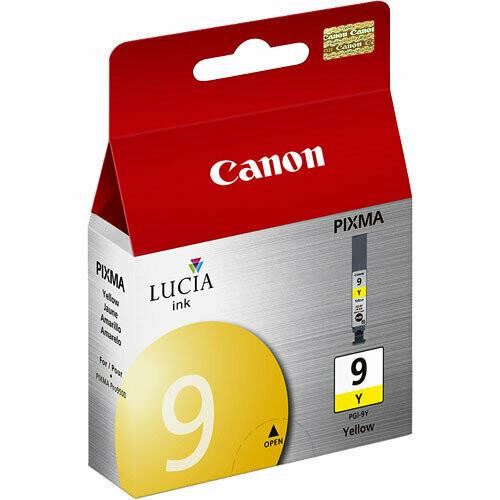 Canon 9 Ink Cartridge, Yellow