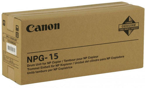 Canon NPG 15 Drum Unit Toner Cartridge, Black