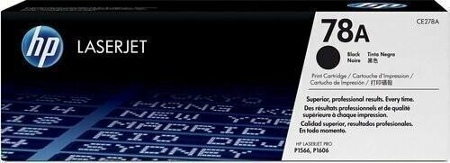HP 78A Toner Cartridge, Black, CE278A