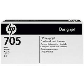 HP 705 Yellow & Cleaner Printhead ,  CD956A