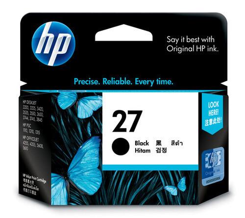 HP 27A Ink Cartridge, Black