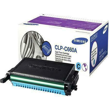 Samsung CLP-C660A / XIP Cyan Toner Cartridge