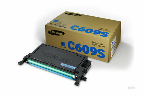 Samsung CLT-C609S / XIP Cyan Toner Cartridge