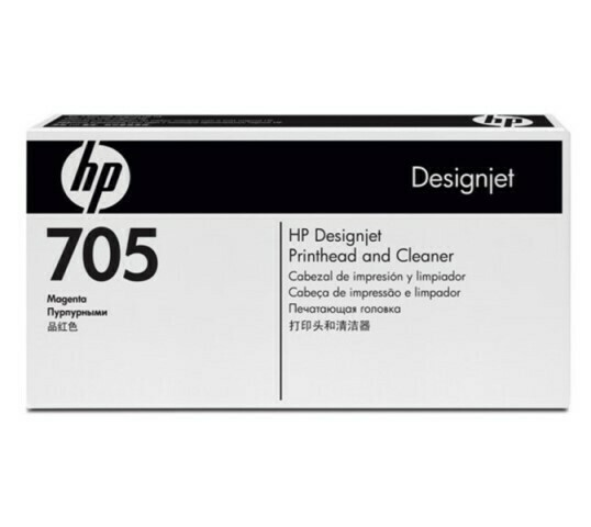 HP 705 Magenta & Cleaner Printhead, CD955A