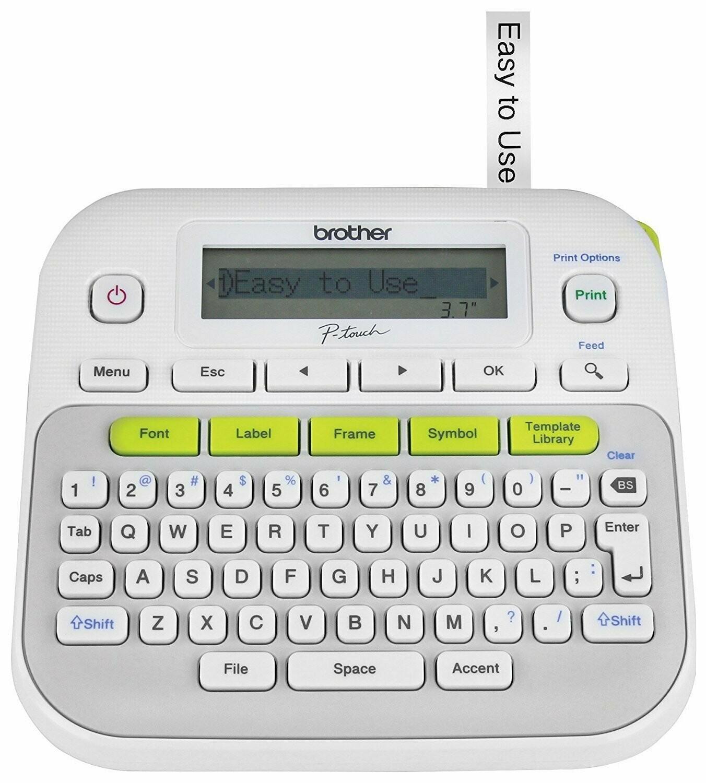 Brother PT D210 Barcode Label Printer