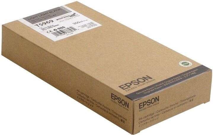Epson T5969 Ink Cartridge, Light Black, 350ml