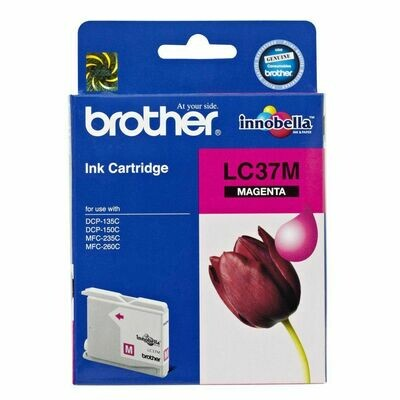 Brother LC37 Ink Cartridge, Magenta