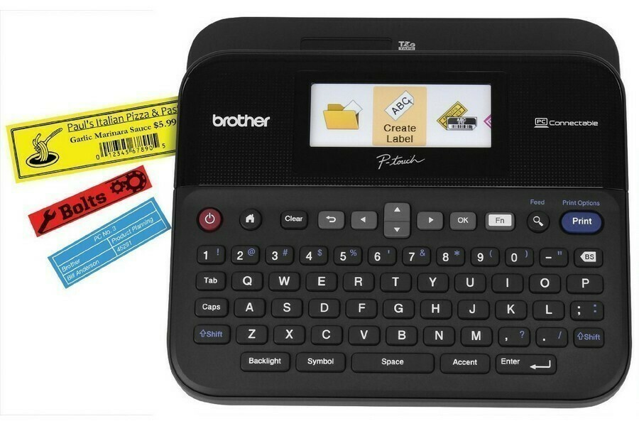 Brother PT D600 PC Connectible barcode Label Printer