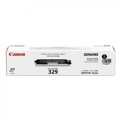 Canon 329 Toner Cartridge, Black