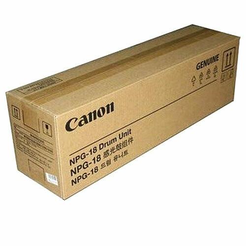 Canon NPG 18 Drum Unit Toner Cartridge, Black