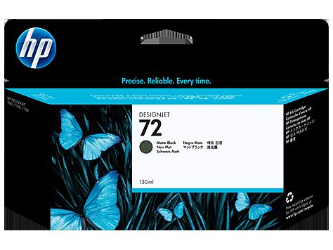 HP 72 Ink Cartridge, Matte Black, 130ml